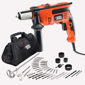 Black&Decker CD714CREW2 710W 13 mm Darbeli Matkap