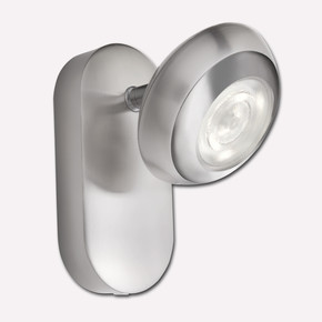 Philips Sepia Tekli Led Spot Nikel