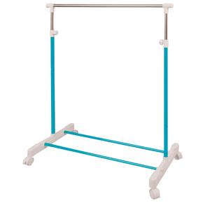 Stabilit Tekli Tekerlekli Elbise Askısı Mavi